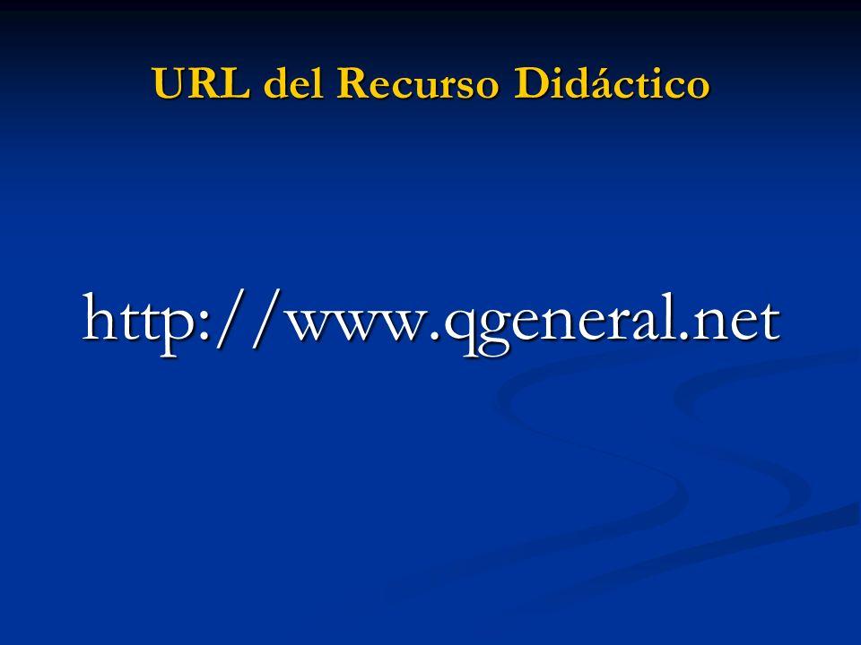URL del Recurso Didáctico