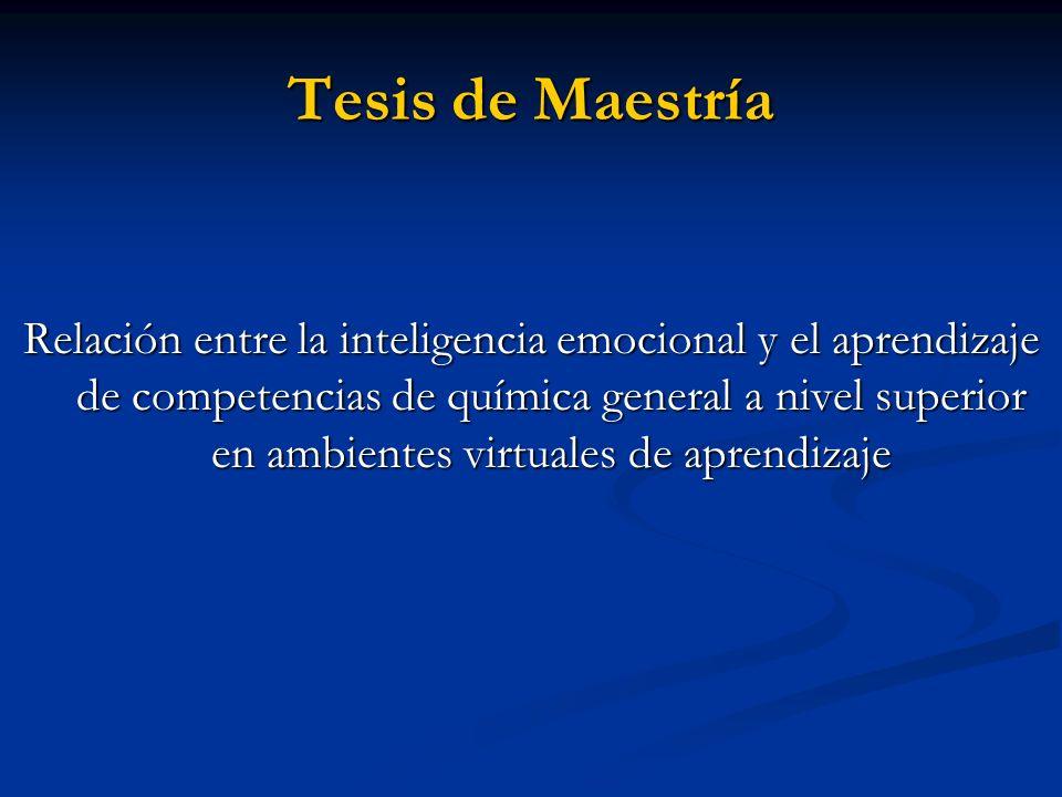 Tesis de Maestría