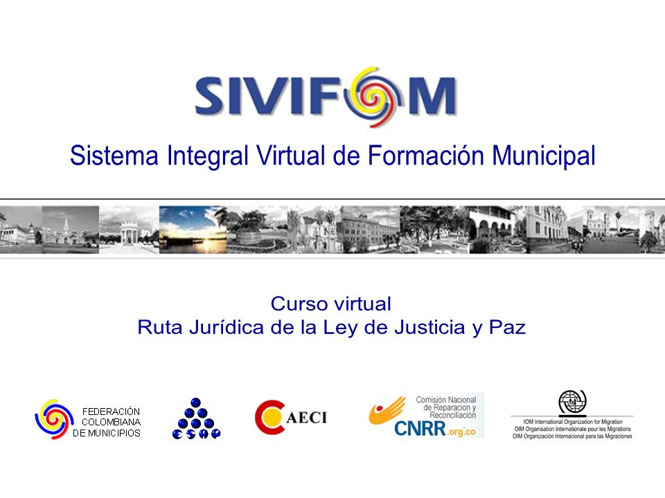 Sistema Integral Virtual de Formación Municipal