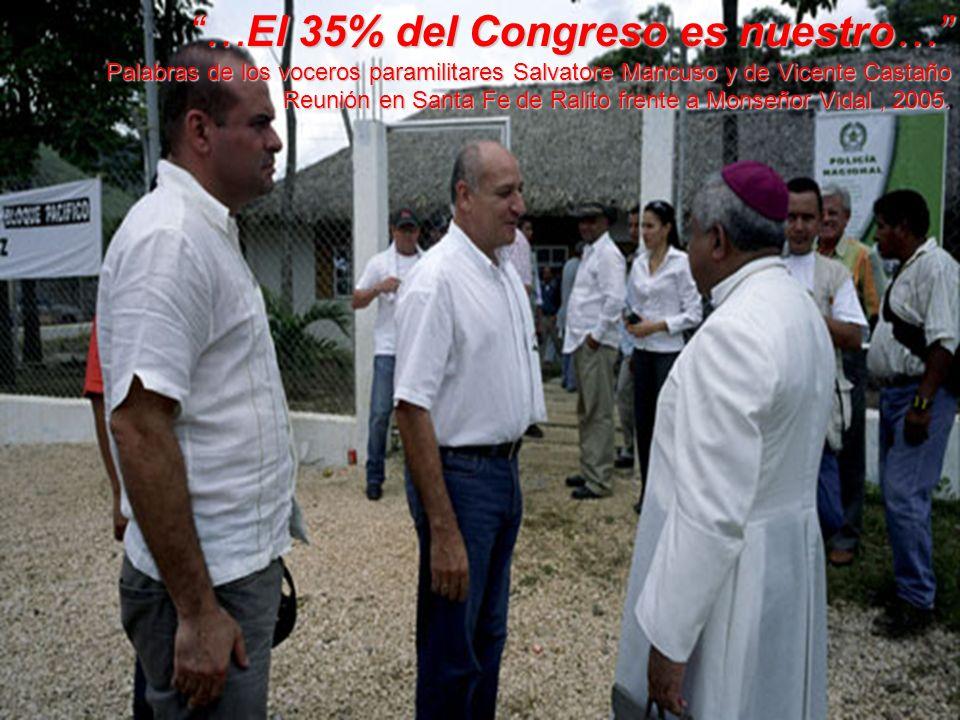 …El 35% del Congreso es nuestro…