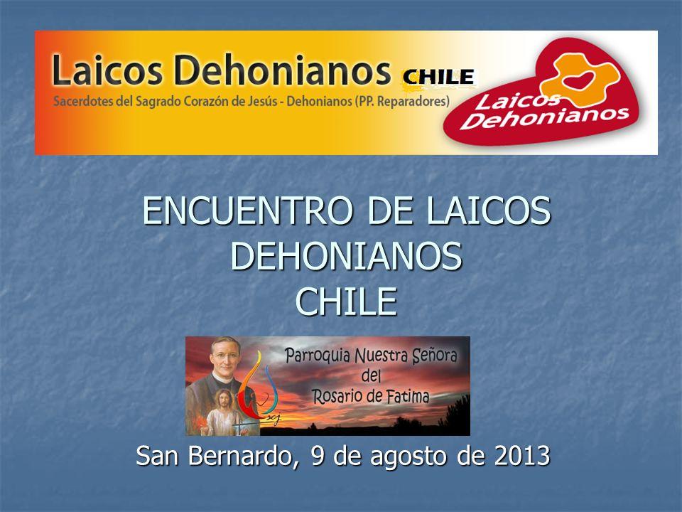 ENCUENTRO DE LAICOS DEHONIANOS CHILE