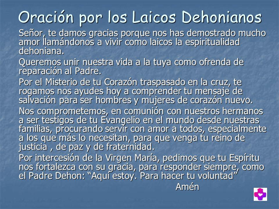 Oración por los Laicos Dehonianos