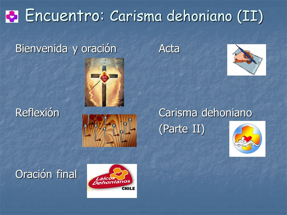 Encuentro: Carisma dehoniano (II)