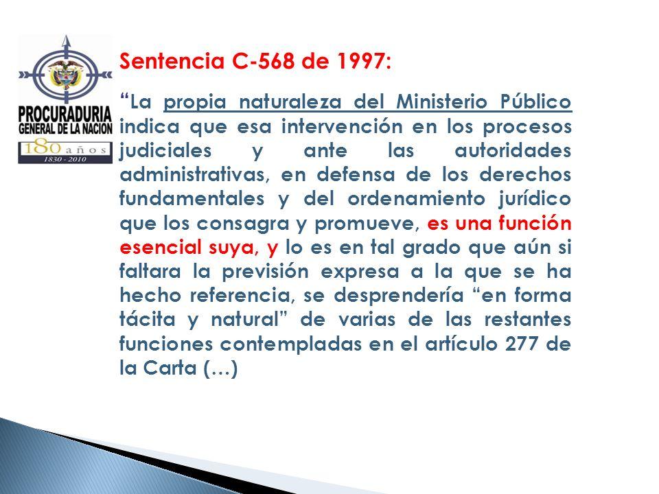 Sentencia C-568 de 1997: