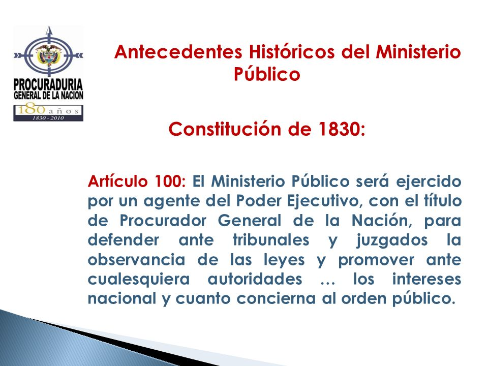 Antecedentes Históricos del Ministerio Público