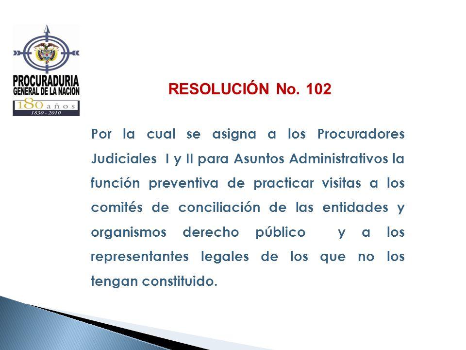RESOLUCIÓN No. 102