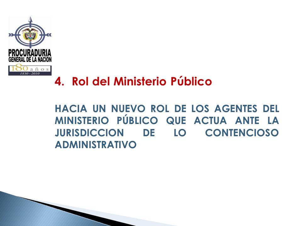 Rol del Ministerio Público