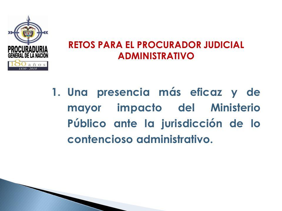 RETOS PARA EL PROCURADOR JUDICIAL