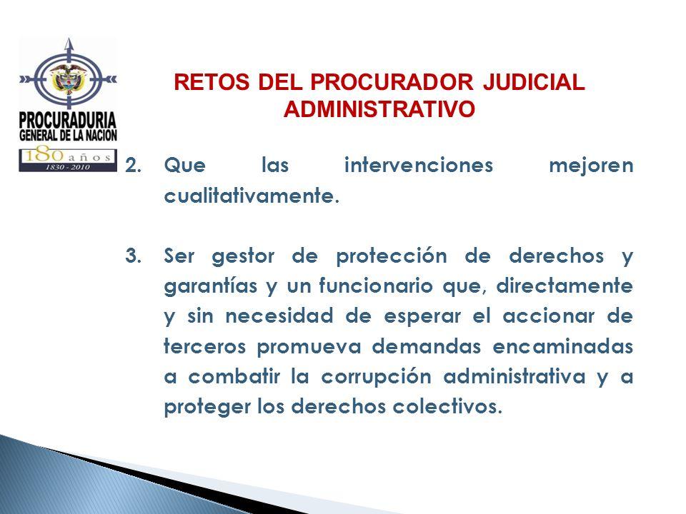RETOS DEL PROCURADOR JUDICIAL ADMINISTRATIVO