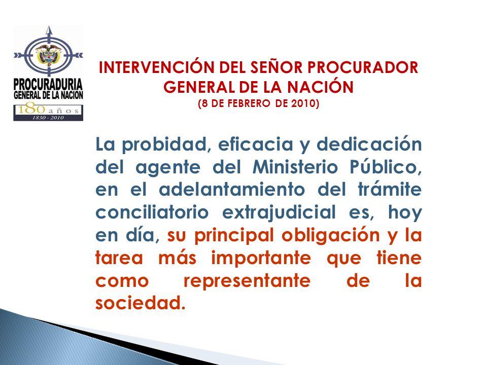 INTERVENCIÓN DEL SEÑOR PROCURADOR GENERAL DE LA NACIÓN