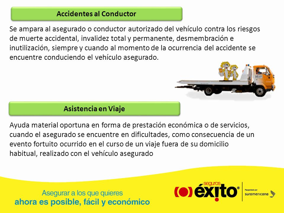 Accidentes al Conductor