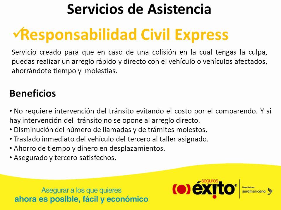 Servicios de Asistencia