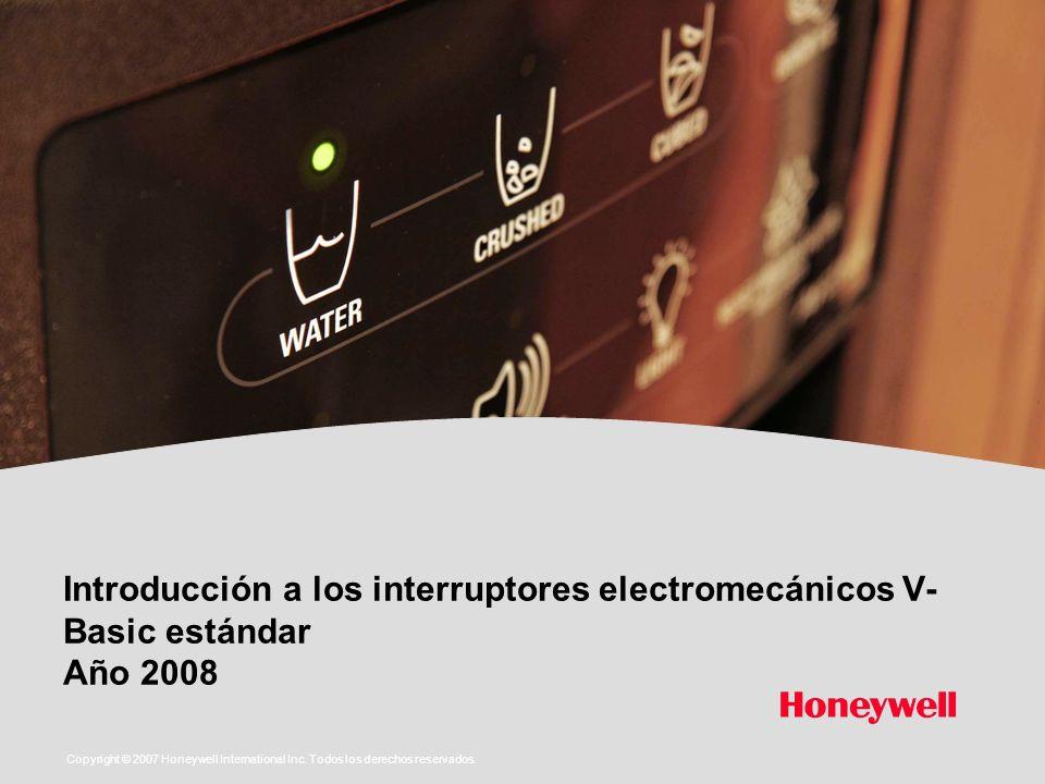 Introducción a los interruptores electromecánicos V-Basic estándar Año 2008
