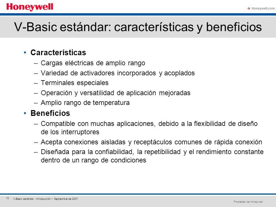 V-Basic estándar: características y beneficios