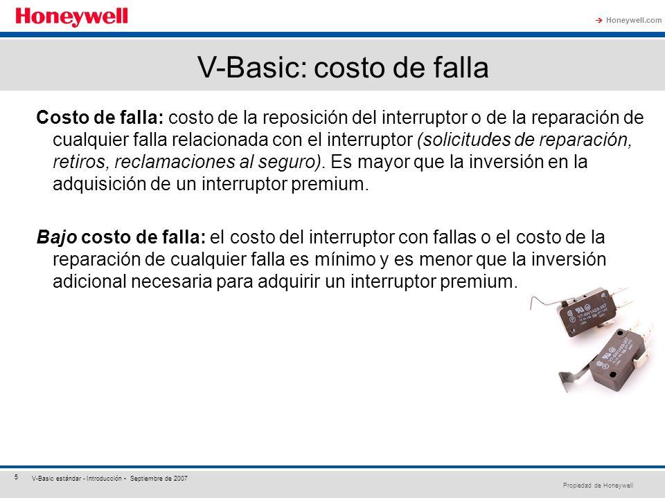 V-Basic: costo de falla