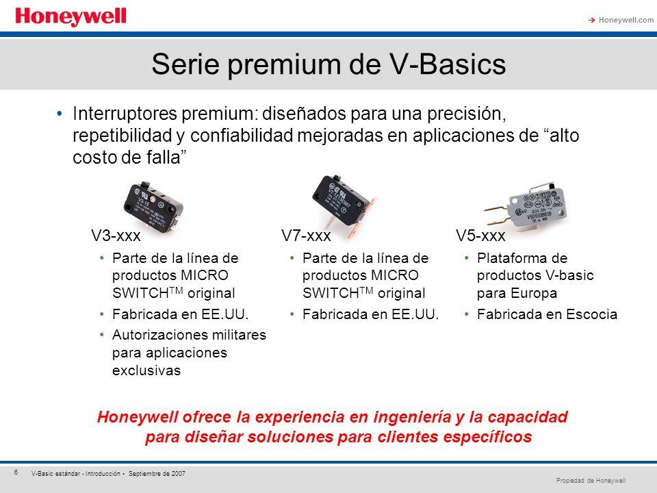 Serie premium de V-Basics
