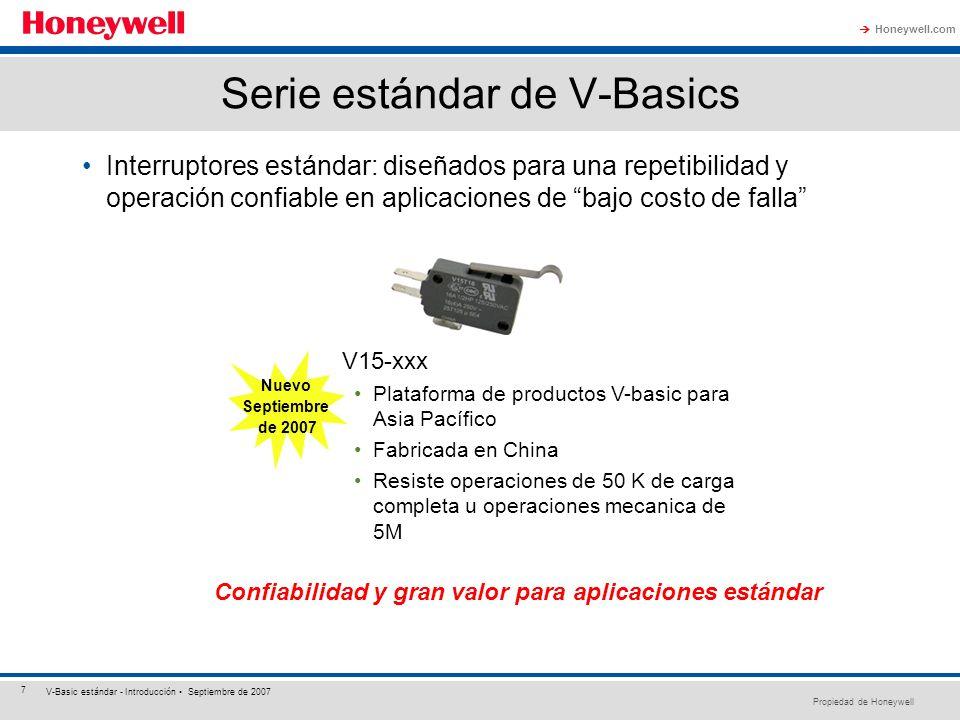 Serie estándar de V-Basics