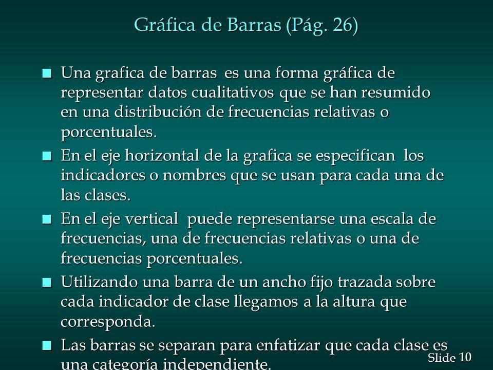 Gráfica de Barras (Pág. 26)