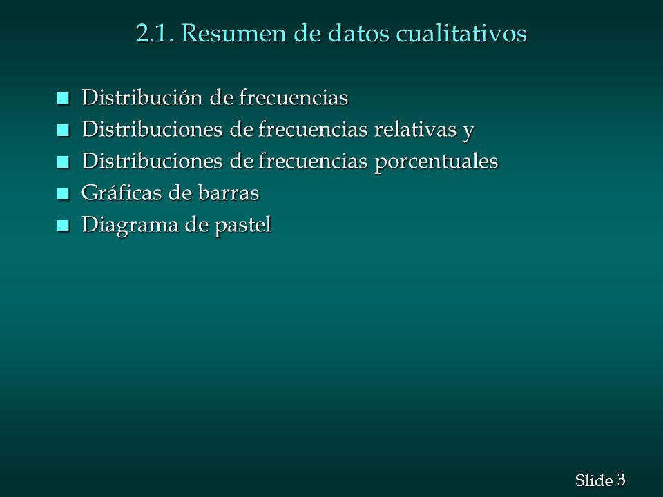 2.1. Resumen de datos cualitativos