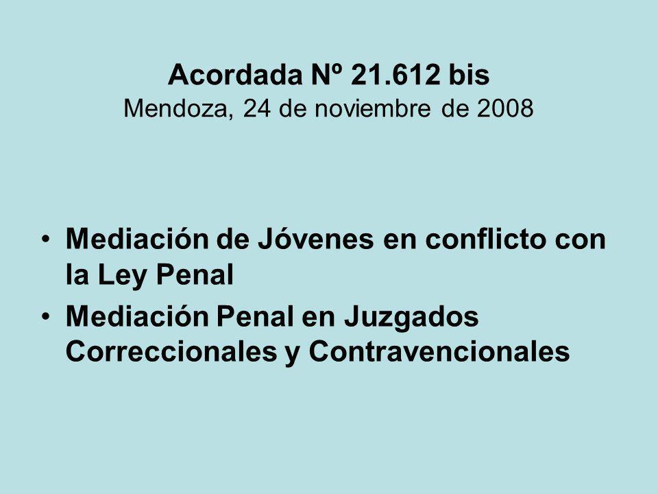 Acordada Nº 21.612 bis Mendoza, 24 de noviembre de 2008
