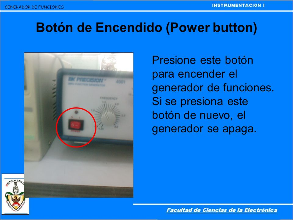 Botón de Encendido (Power button)