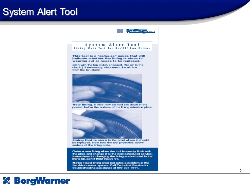System Alert Tool