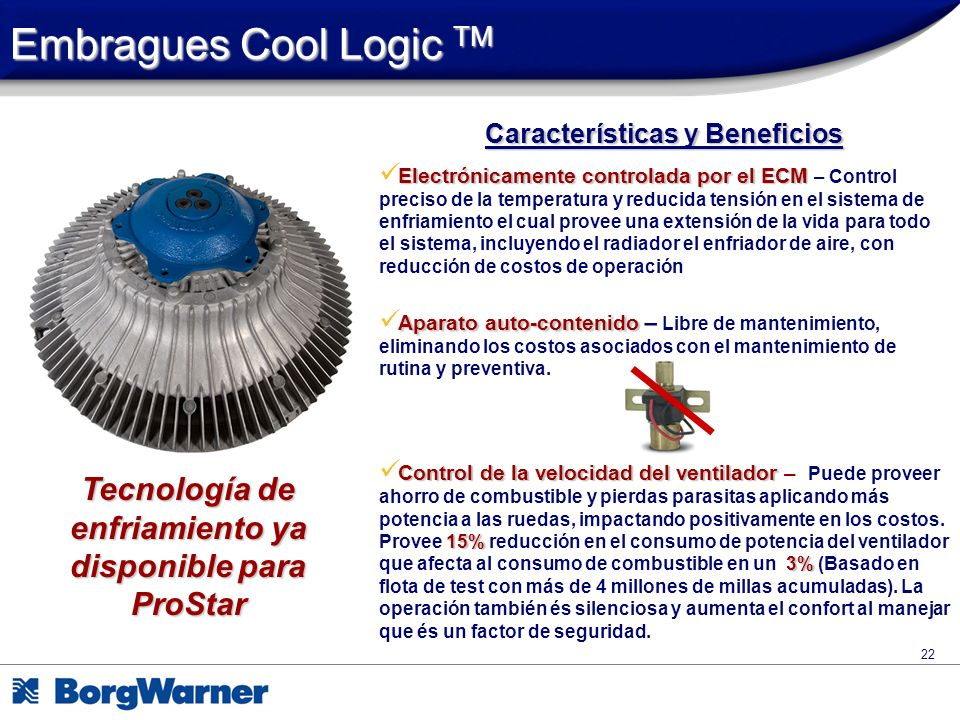Embragues Cool Logic TM