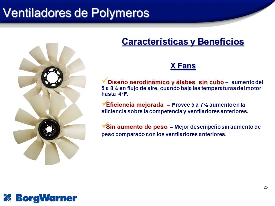 Ventiladores de Polymeros