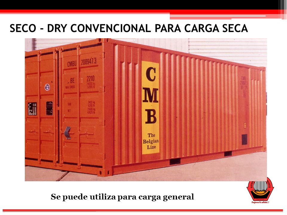 SECO - DRY CONVENCIONAL PARA CARGA SECA