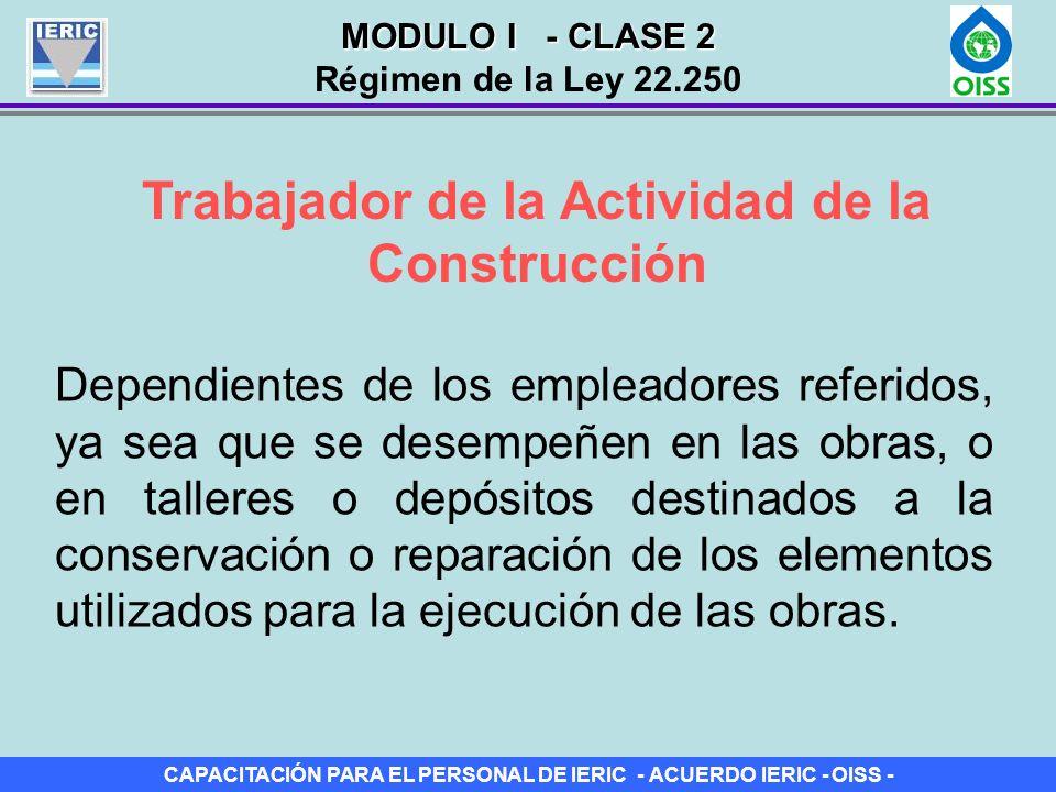 Trabajador de la Actividad de la Construcción