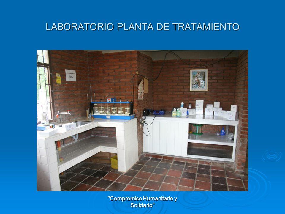 LABORATORIO PLANTA DE TRATAMIENTO