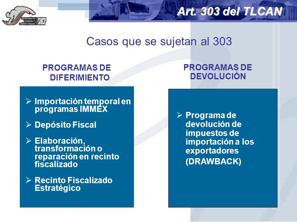 PROGRAMAS DE DIFERIMIENTO PROGRAMAS DE DEVOLUCIÓN