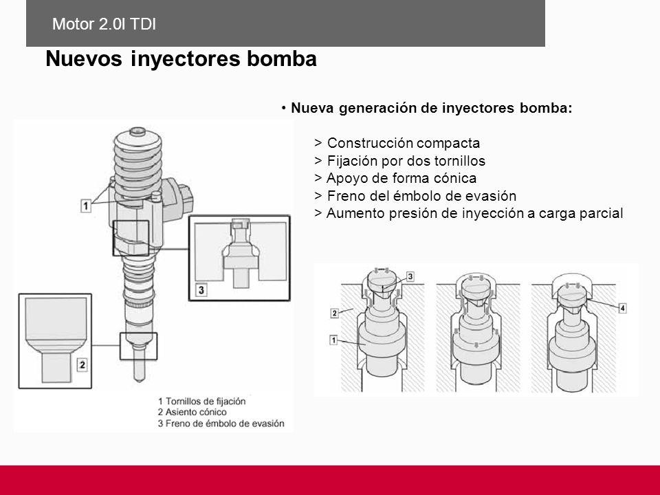Nuevos inyectores bomba