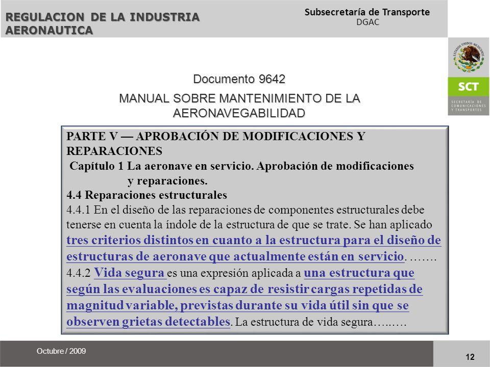 MANUAL SOBRE MANTENIMIENTO DE LA AERONAVEGABILIDAD