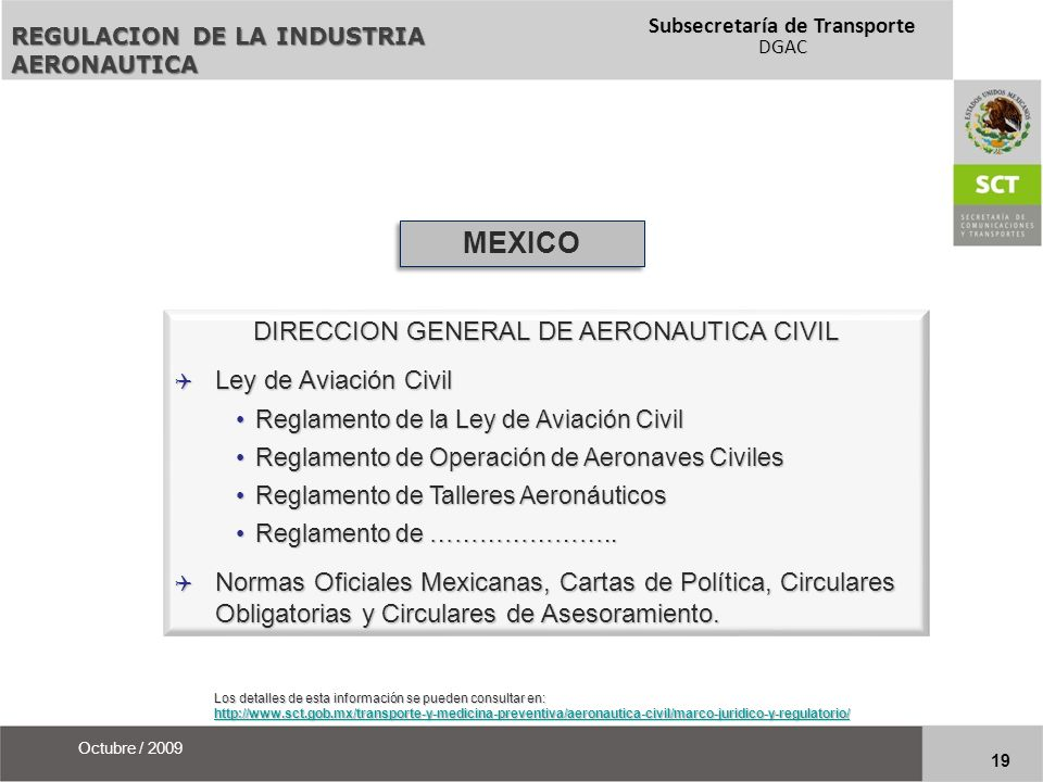 DIRECCION GENERAL DE AERONAUTICA CIVIL