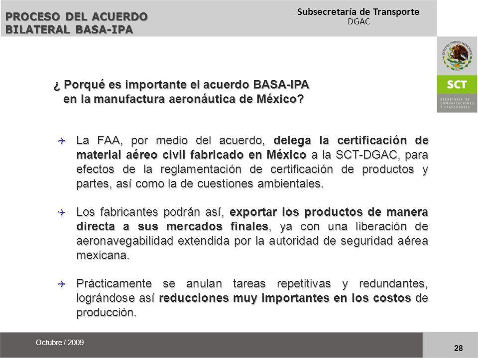 ¿ Porqué es importante el acuerdo BASA-IPA
