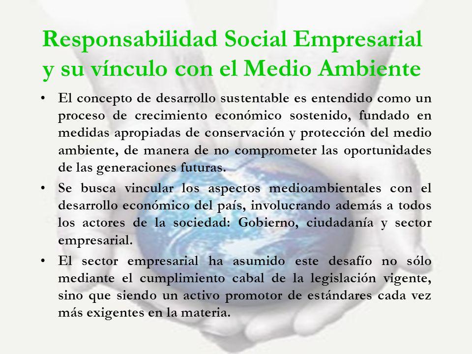 Responsabilidad Social Empresarial y su vínculo con el Medio Ambiente