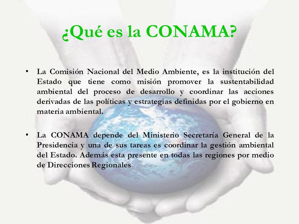 ¿Qué es la CONAMA
