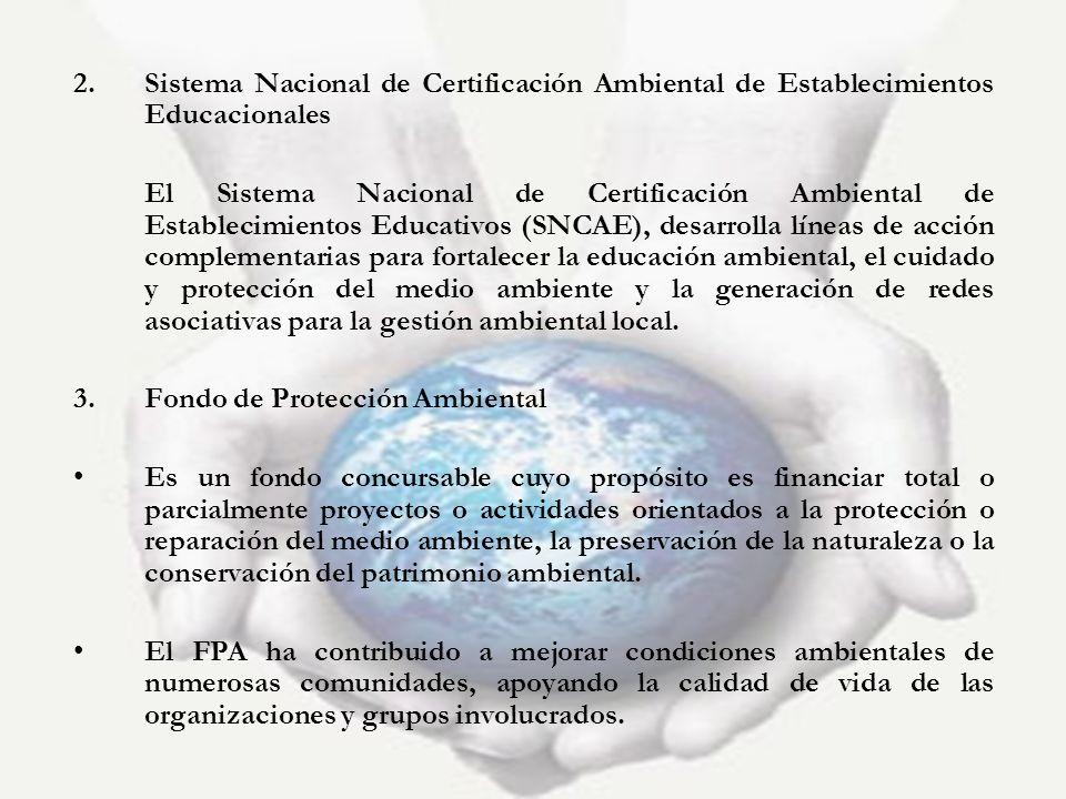 Sistema Nacional de Certificación Ambiental de Establecimientos Educacionales