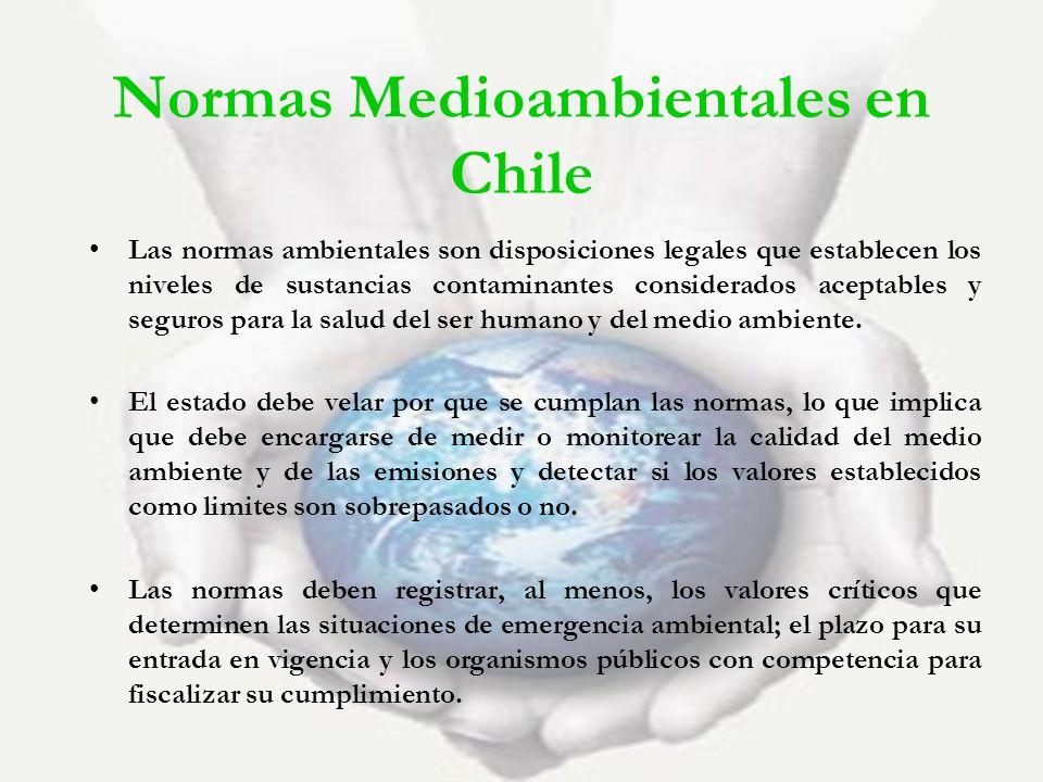 Normas Medioambientales en Chile