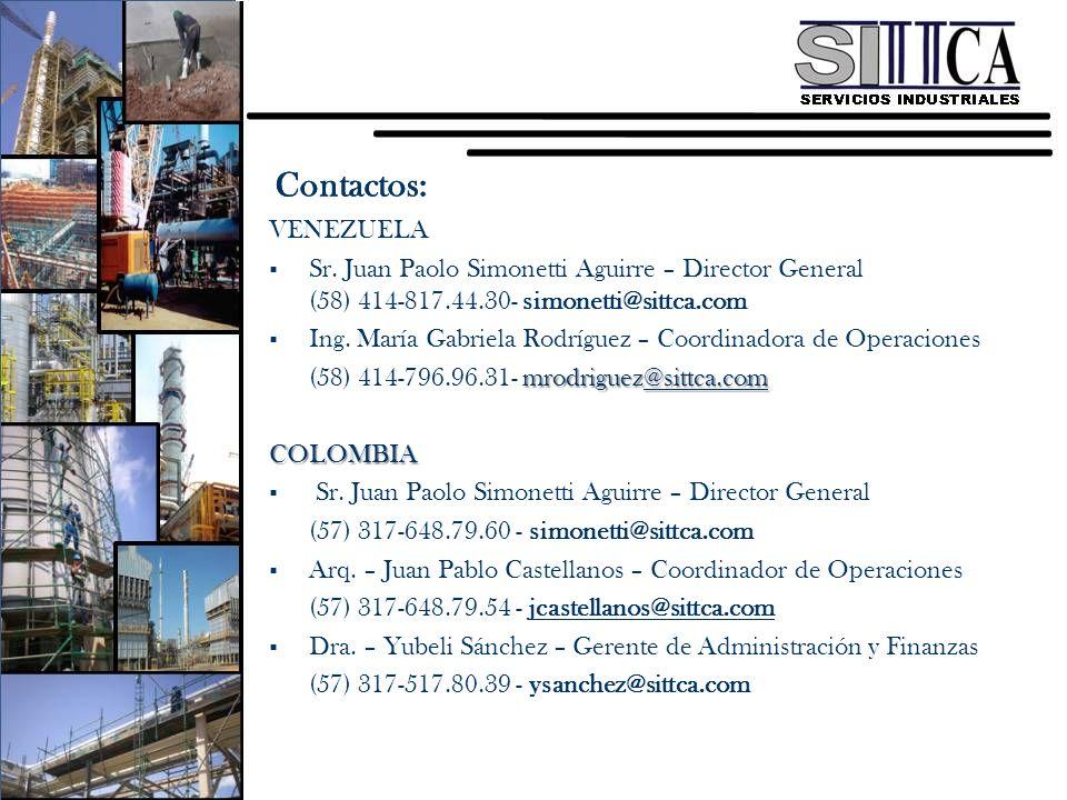Contactos: Contactos: VENEZUELA