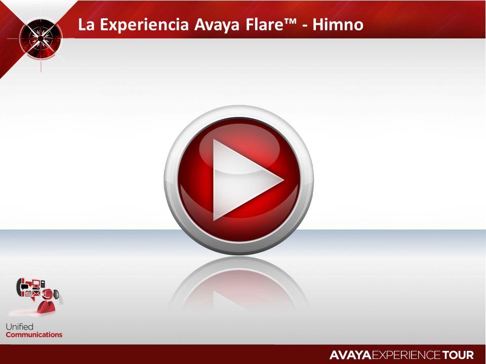 La Experiencia Avaya Flare™ - Himno