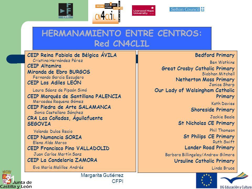 HERMANAMIENTO ENTRE CENTROS: Red CN4CLIL