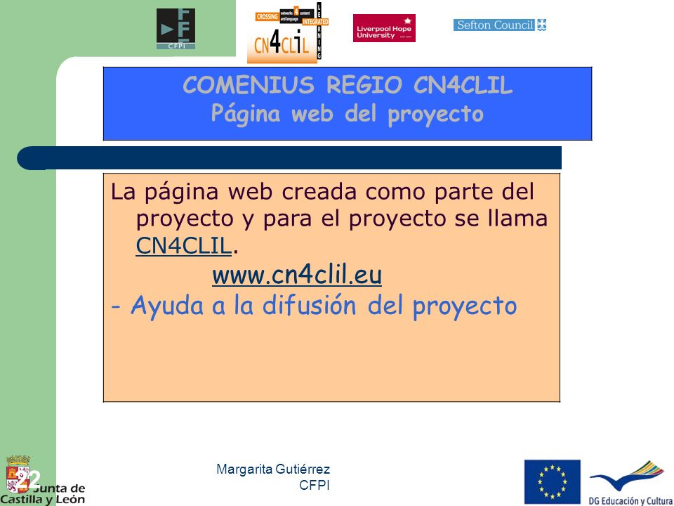 Página web del proyecto