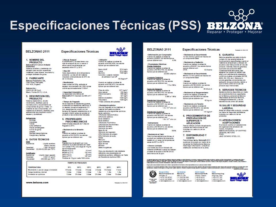 Especificaciones Técnicas (PSS)