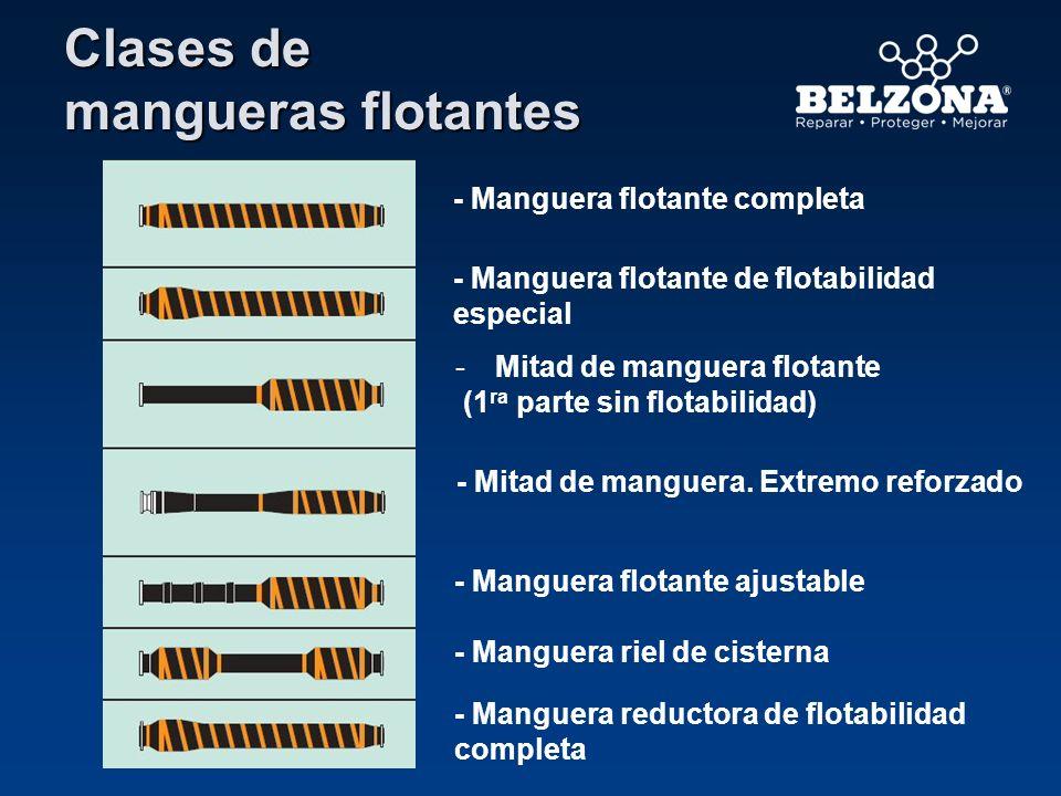 Clases de mangueras flotantes