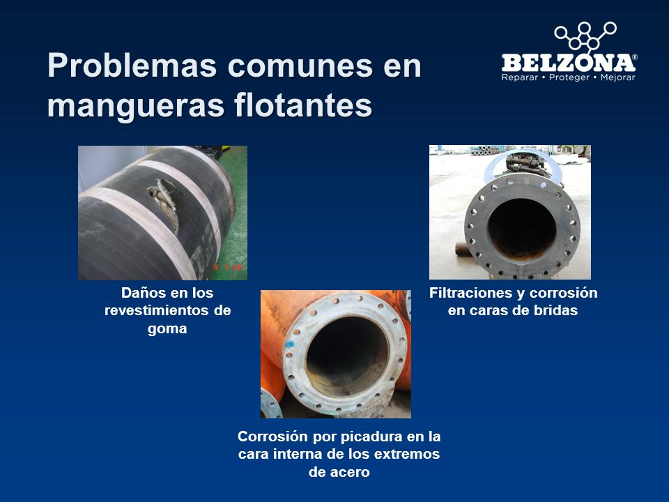 Problemas comunes en mangueras flotantes