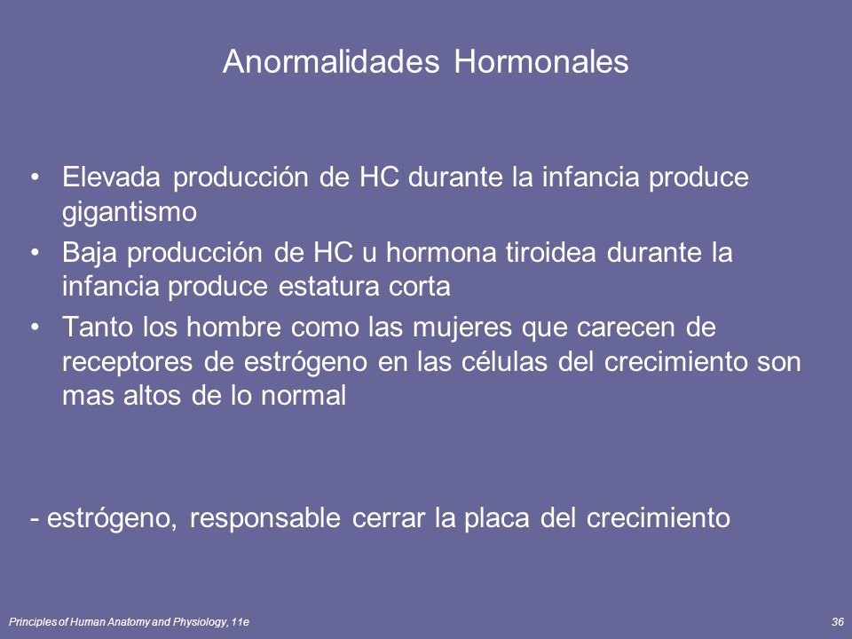 Anormalidades Hormonales