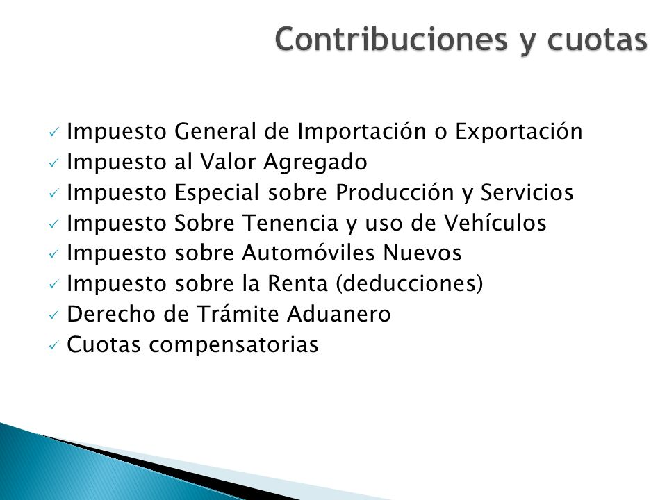 Contribuciones y cuotas