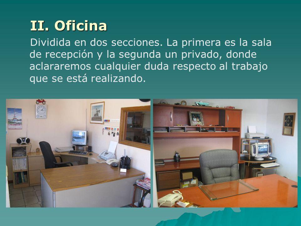 II. Oficina
